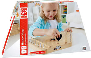 Hape - Early Melodies - Happy Harp Wooden Instrument and Jenga