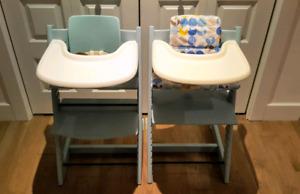 Stokke chaise haute Tripp Trapp couleur aqua
