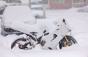 Don't forget about your bike!! (winterization)