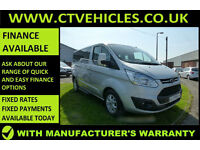 2015 Ford Tourneo Custom 300 MINIBUS, TOP SPEC LIMITED, ALLOYS A/C CRUISE CONTR