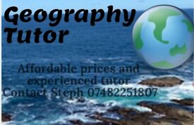 GCSE Geography Tutor