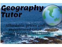 GCSE Geography Tutor