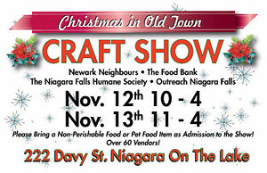 Christmas in Old Town Charity Craft & Vendor Show NOTLake