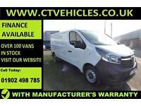 2016 66 plate Vauxhall Vivaro 1.6CDTi L2H1 LWB 115bhp E/W L2 Tidy van