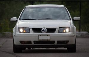 2001 Volkswagen Jetta Wolfsburg Edition - 5 speed manual
