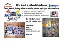 I WILL BUY YOUR OLD GAMING ITEMS. NINTENDO, PS & MORE. MAKE $$$ Acacia Ridge Brisbane South West Preview