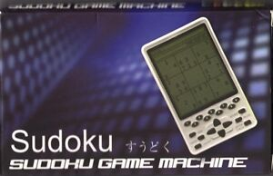 SUDOKU / game machine électronique / neuf / 1x /