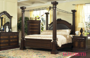GREAT STYLE-CANOPY BED -BED ONLY