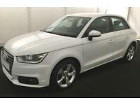2016 WHITE AUDI A1 SPORTBACK 1.6 TDI 116 SPORT DIESEL 5DR CAR FINANCE FROM 41 PW