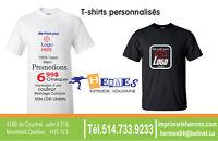 Impression sur t-shirt Montreal