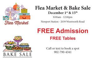 Flea Market & Bake Sale