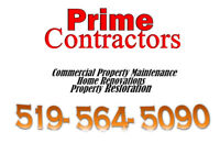 Home/Commercial Renovate Tile Skilled Trades Demolition & Build