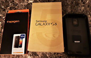 Samsung Galaxy S5 with extras