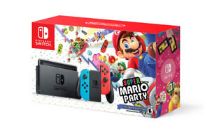 Switch console bundle with Mario Party - BRAND NEW!!