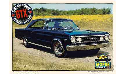 (1967 PLYMOUTH HEMI GTX  ~  2-PAGE MAGAZINE / PHOTO / PICTURE / AD)