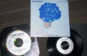 "John Illsley 7"" vinyl record + CD + pic sleeve dire straits"