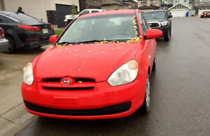 2009 Hyundai Accent kms 130k only
