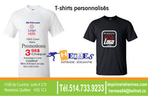 IMPRESSION SÉRIGRAPHIE BRODERIE T-SHIRTS - T-SHIRTS PRINTING
