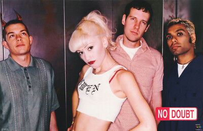 POSTER :MUSIC : NO DOUBT - GWEN STEFANI & BAND - FREE SHIPPING !  #6511  RW6 X