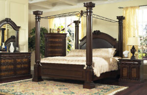 CANOPY BED_FACTORY DIRECT WAREHOUSE SALE
