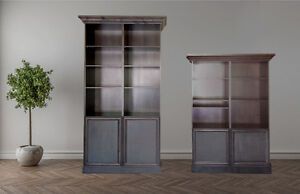 Quality Ash Entertainment/Wall/Bookcase Units