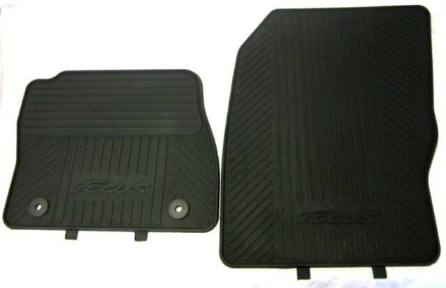 NEW GENUINE FORD FOCUS MK3 2011 ONWARDS FRONT RUBBER FLOOR MATS  sc 1 st  eBay & Genuine Ford Focus Mk3 2011 Onwards Front Rubber Floor Mats | eBay markmcfarlin.com