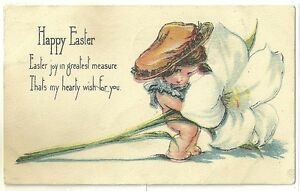 CPA- happy easter - Postcards - France - État : Occasion: Objet ayant été utilisé. Consulter la description du vendeur pour avoir plus de détails sur les éventuelles imperfections. ... - France