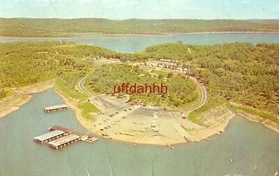 INDIAN POINT BOAT DOCK, GOLDEN ARROW RESORT, BRANSON, MO 1965 Table Rock Lake