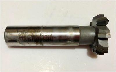 A.b Tools Carbide Tipped Keyseat Cutter 1-12 Dia X .375 X 30chamfer 8fl Used