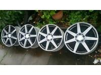 "Genuine 18"" Mercedes AMG Coupe Alloys A B C E Class CLK CLS CSL SLK"