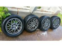 "15"" Genuine Mk3 Mk4 Golf VR6 GTi BBS Alloys 5x100 Seat leon ibiza vw polo lupo fabia"
