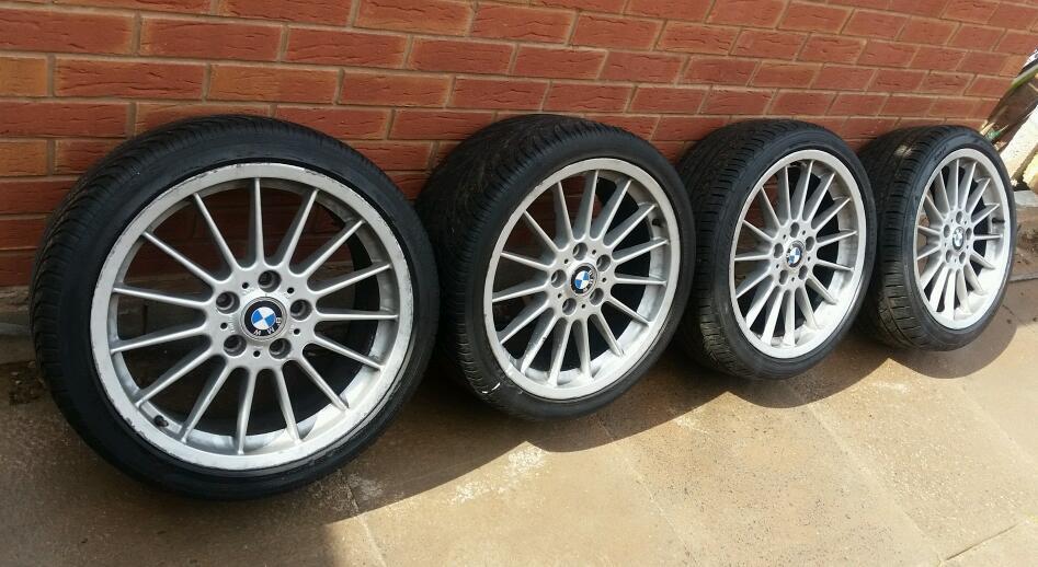 Genuine 18 Quot Bmw Style 32 Alloy Wheels 1 3 5 Series E36 E46 E90 E91 E87 E34 E39 In Alum Rock