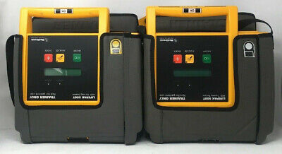 Lot Of 2 Medtronic Lifepak 500t Training Aed System - For Parts No Batteries