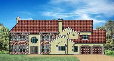 CAD portfolio for plan JML009B  ... house / home / construction / floor plans