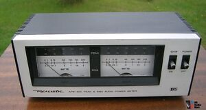 Realistic AMP-200 power meter wanted