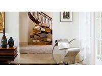 Interior Designer South Kensington. Professional Painter London Architect, Wallpaper intallations