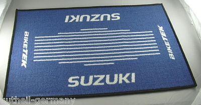 Suzuki Türmatte Fussmatte Schmutzmatte Fussmatte Teppich door-mat Motorrad