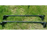 Pair of driver Roof bars 50kg loading Seat Ibiza VW Audi £45ONO