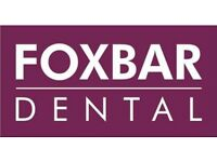 Experienced Dental Nurse/Receptionist required for Paisley Dental Practice