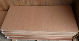 5 Pieces of NEW 5.5mm Top quality B/BB Exterior Grade Hardwood Ply 48in x 21in (1220mm x 540mm)