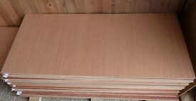 10 Pieces of NEW 5.5mm Top quality B/BB Exterior Grade Hardwood Ply 48in x 21in (1220mm x 540mm)