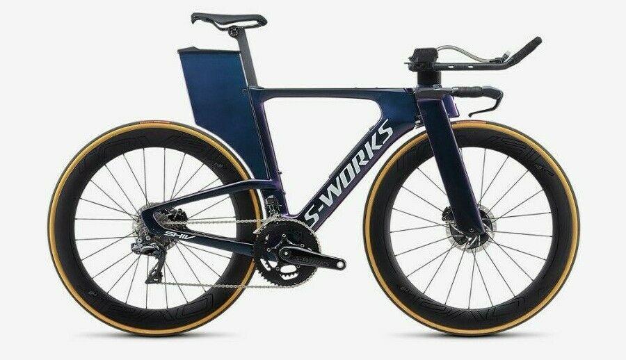 2019 S-Works Shiv Disc Limited-Edition Triathlon Bike & Travel Case (New - 13999 USD)