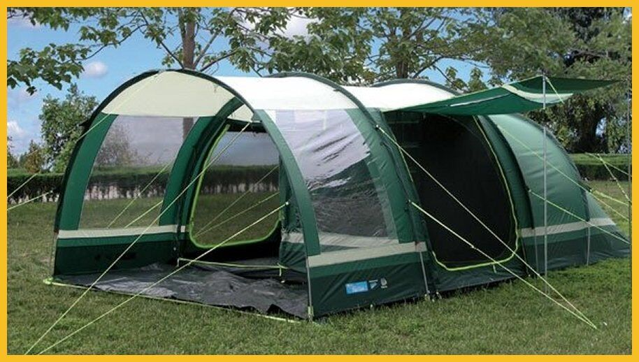 KAMPA FISTRAL 4 BERTH TUNNEL TENT & KAMPA FISTRAL 4 BERTH TUNNEL TENT | in Angmering West Sussex ...