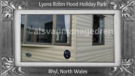 BOUNTY: LYONS ROBIN HOOD, RHYL, NORTH WALES: SLEEPS 6 MAX, NO PETS