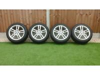 Audi C7 2011 to present model alloy wheels and tyres