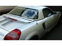 Toyota MR2 Sportster 1800 cc soft top 2002 model with additional hardtop for winter included