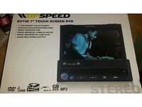 touch screen dvd cd player