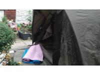 Fishing tent.chub discovery 2