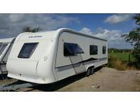 Hobby caravan top of the range