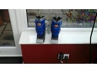 Air kick anti gravity running boots.